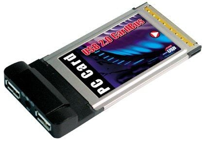 USB 2.0 High-Speed   PCMCIA Card Bus 32 Adapter for Laptops