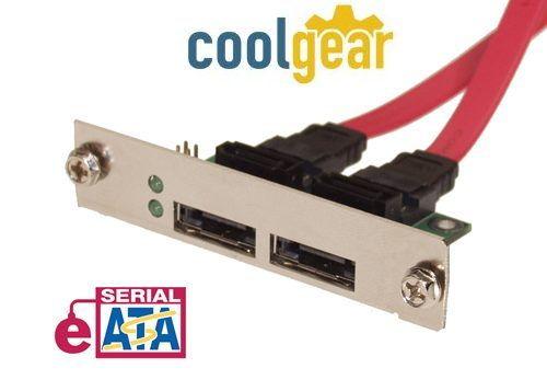NEW eSATA II Device Bracket for External Enclosure MOD