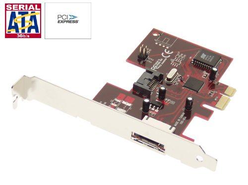 SATA PCI Express SATA II 3Gbps 1 External & 1 Internal