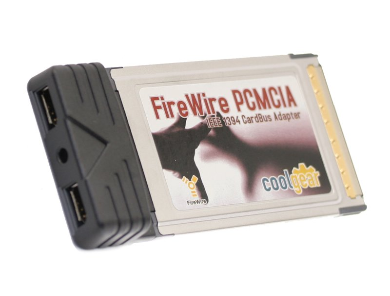 TRUE TI BASED WINDOWS/MAC/LINUX COMPATIBLE 32-Bit PCMCIA 2-Port Firewire CardBus Adapter