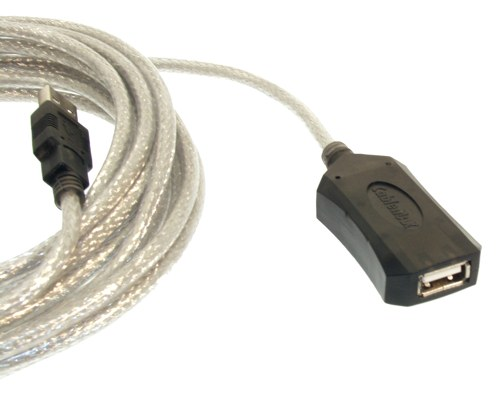 USB 2.0 Extension Cable 16ft. Active Repeater Booster
