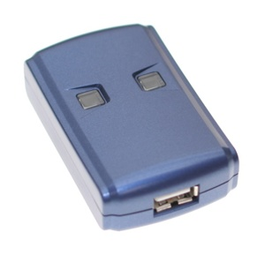 2-Computer to One Printer Auto Hot-Key USB 2.0 High-Speed Switch