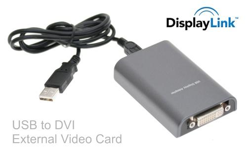USB Video Card / USB Display Adapter DVI Output Port