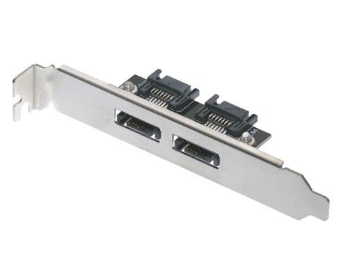 2-Port SATA Internal to SATA External PCI Bracket