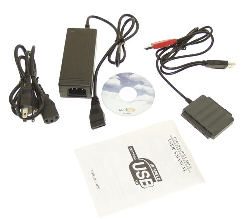 USB 2.0 External HDD Adapter Optical Drive 2.5 / 3.5 / 5.25 inch