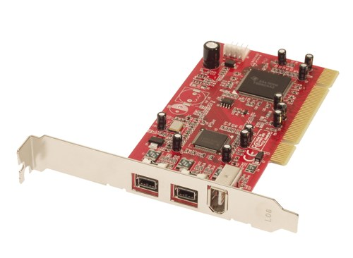 32-Bit PCI Firewire 800 and 400 Card For Windows XP machines