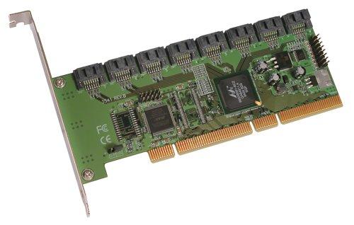 8-Port SATA/PCI-X Controller SATA II 3Gbps Card