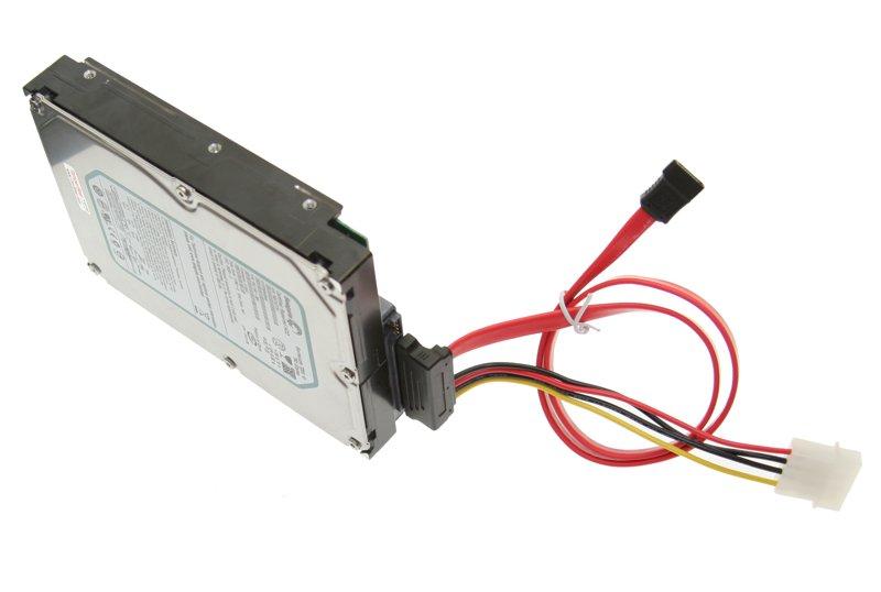 DATA/Power Combo SATA II Cable Down Angle