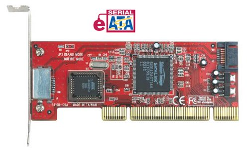 eSATA 150 1-port internal + 1-port external  PCI Adapter