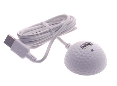 Golf Ball Styled 5 Feet USB 2.0 Extension Cable/ Docking Station (A Type F-M)
