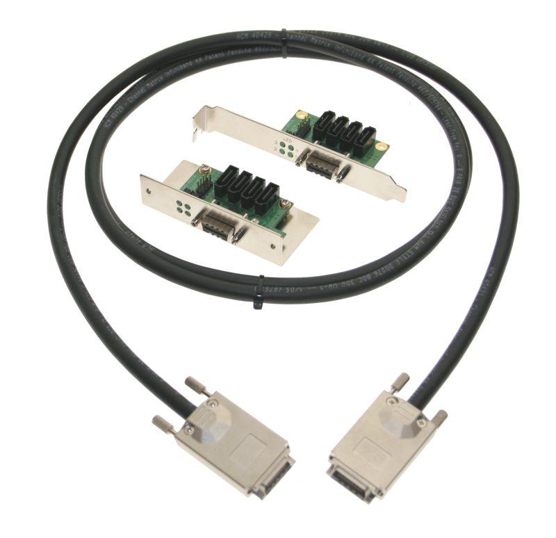MultiLane SATA II 3Gbps PCI Bracket + Device Bracket + Cable 4-Channel