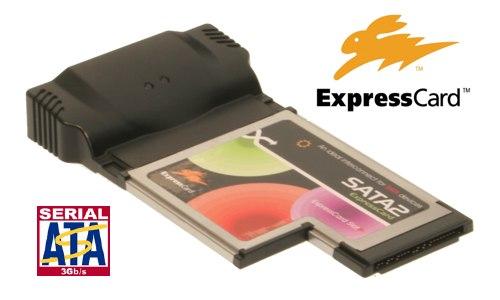 SATA II 3G Raid Express Card Dual eSATA port