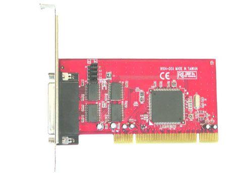 RS232 (16C950 UART) 4Ports Low Profile PCI w/ 5V Output