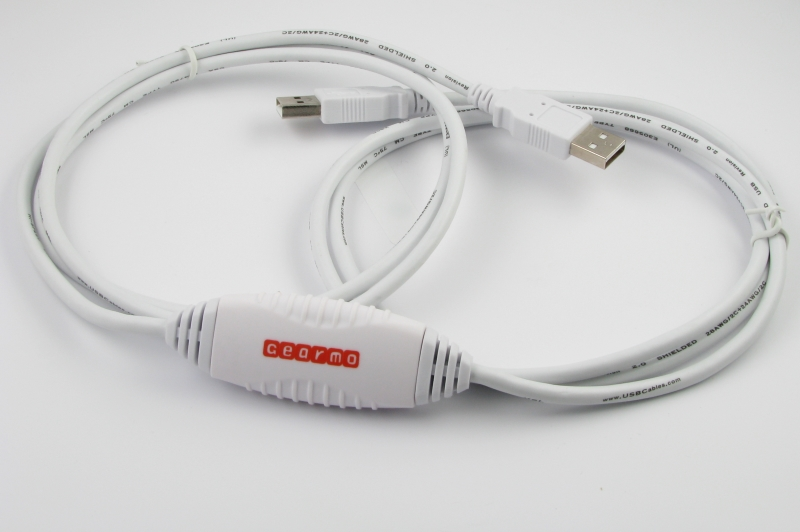 Windows7 USB to USB Driverless Net Link Data Transfer Cable