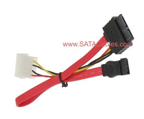 "36"" SLIMLINE ""MINI"" SATA Hard Drive CABLE (PCB SIDE Female Connector)"