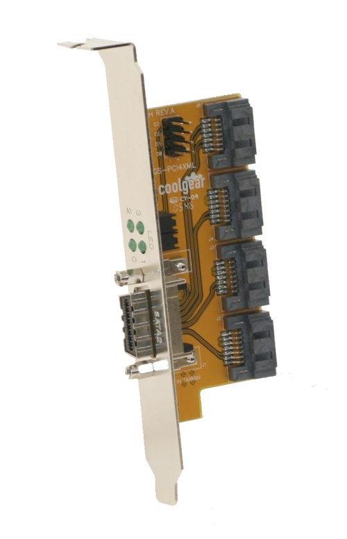 SATA Multilane PCI adapter SATA I and SATA II rev.02