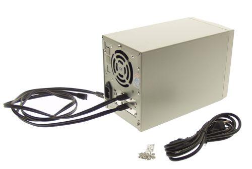 Mini Dual Drive Native SATA Enclosure with eSATA Output