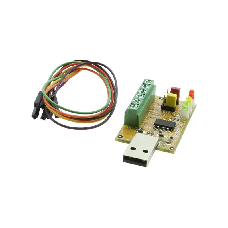 USB TTL 5V / 3.3V RS232 adapter with LED indicators
