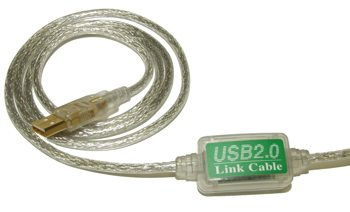 USB 2.0 HIGH-SPEED PC to PC LINK CABLE by USBGEAR