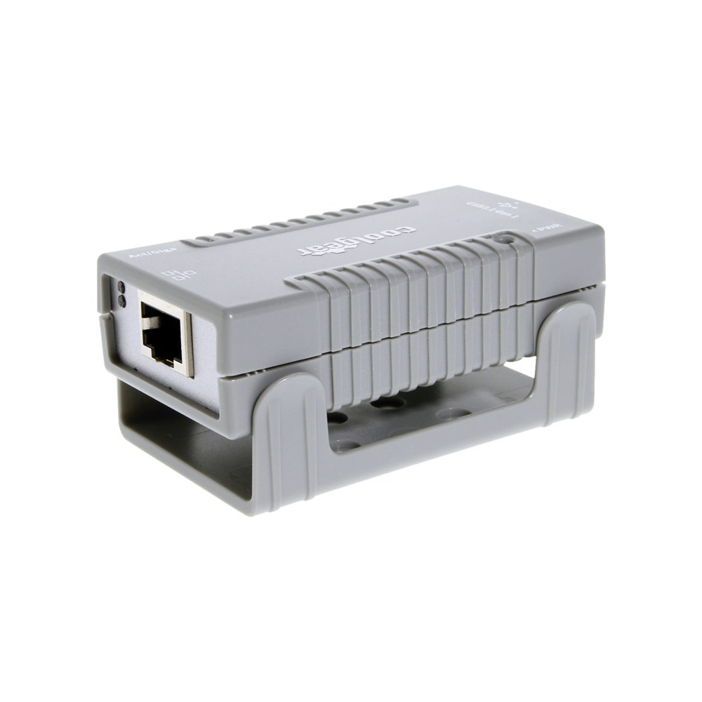 Gigabit Ethernet USB3.1 Gen 1 Adapter w/4KVrms Isolation and Mounting Kit